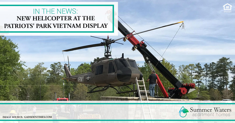 New Helicopter at the Patriots' Park Vietnam Display