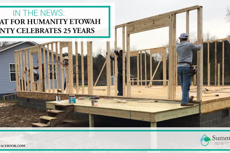 In the News: Habitat for Humanity Etowah County Celebrates 25 Years