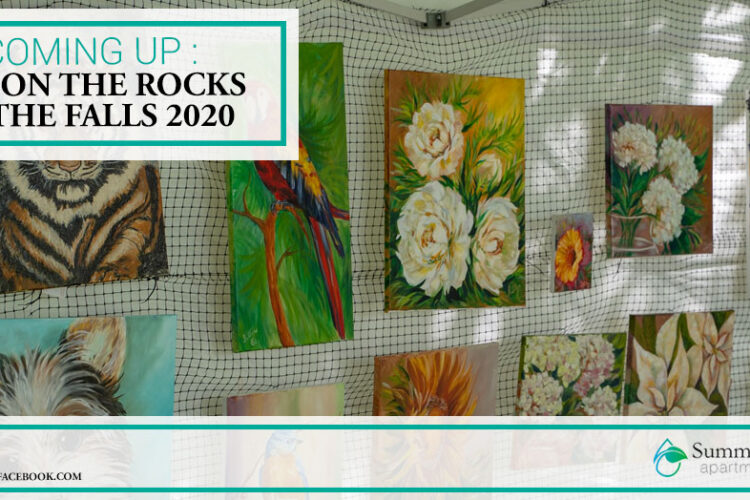 Coming Up: Art on the Rocks at the Falls 2020