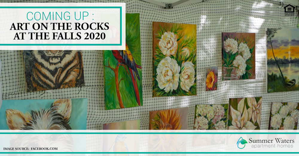 Art on the Rocks at the Falls 2020
