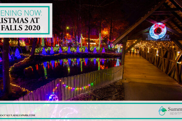 Happening Now: Christmas at the Falls 2020