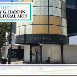 visit the Mary G. Hardin Center for Cultural Arts