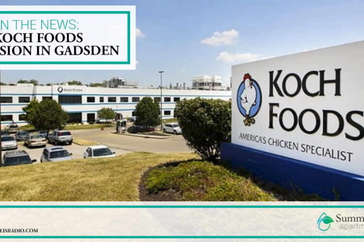 In the News: Koch Foods Expansion in Gadsden