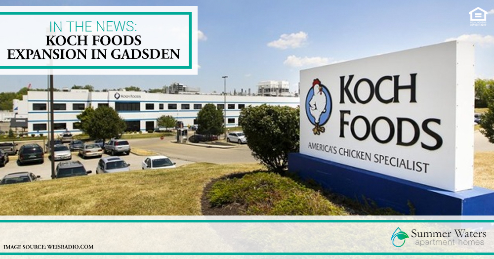 Koch Foods Expansion in Gadsden