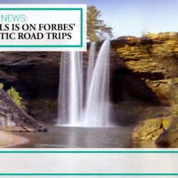Noccalula Falls is on Forbes' list of Romantic Road Trips