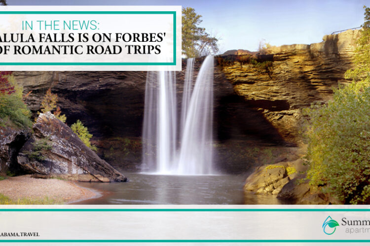 In the News: Noccalula Falls is on Forbes' List of Romantic Road Trips