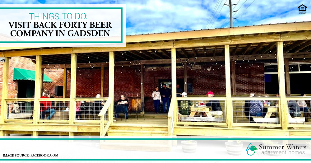 Visit Back Forty Beer Company in Gadsden
