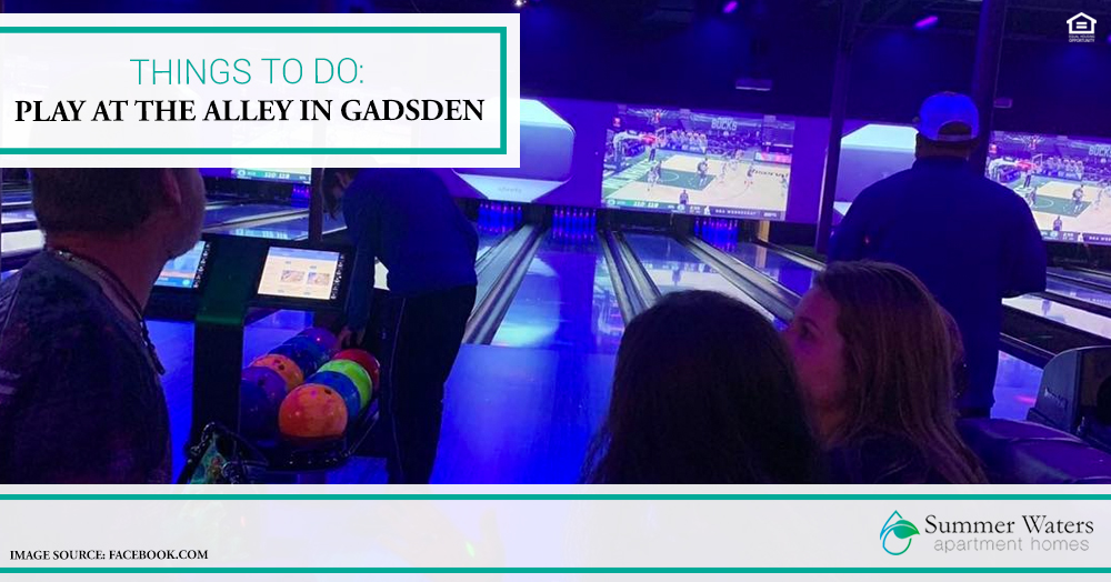 Things to Do: Play at The Alley in Gadsden